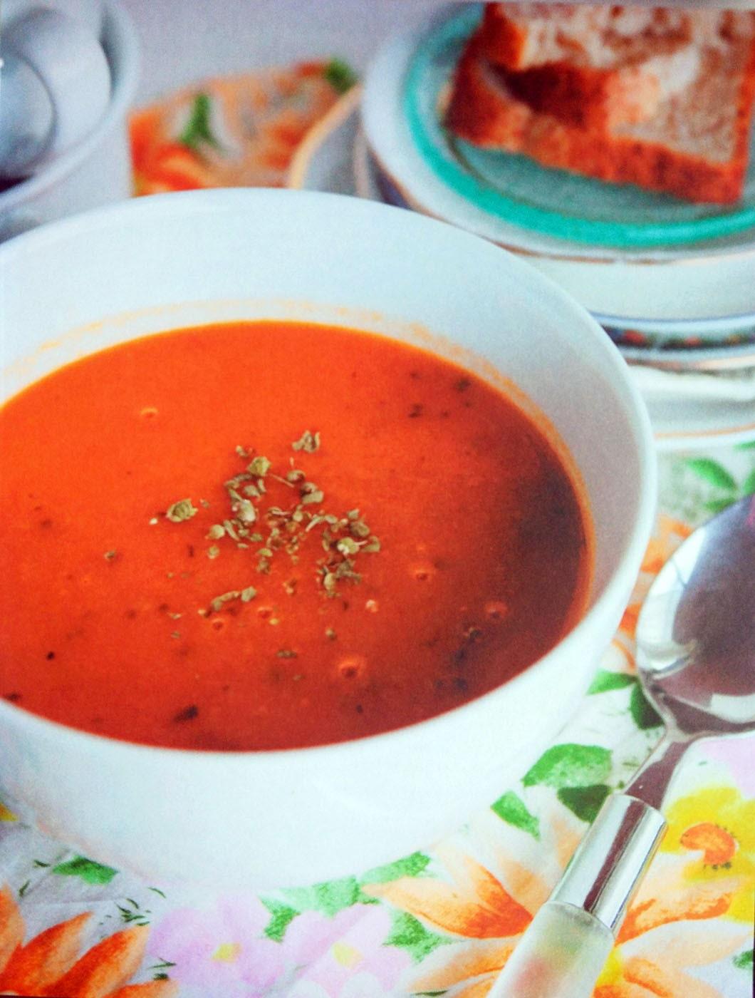 Томатный суп по итальянски