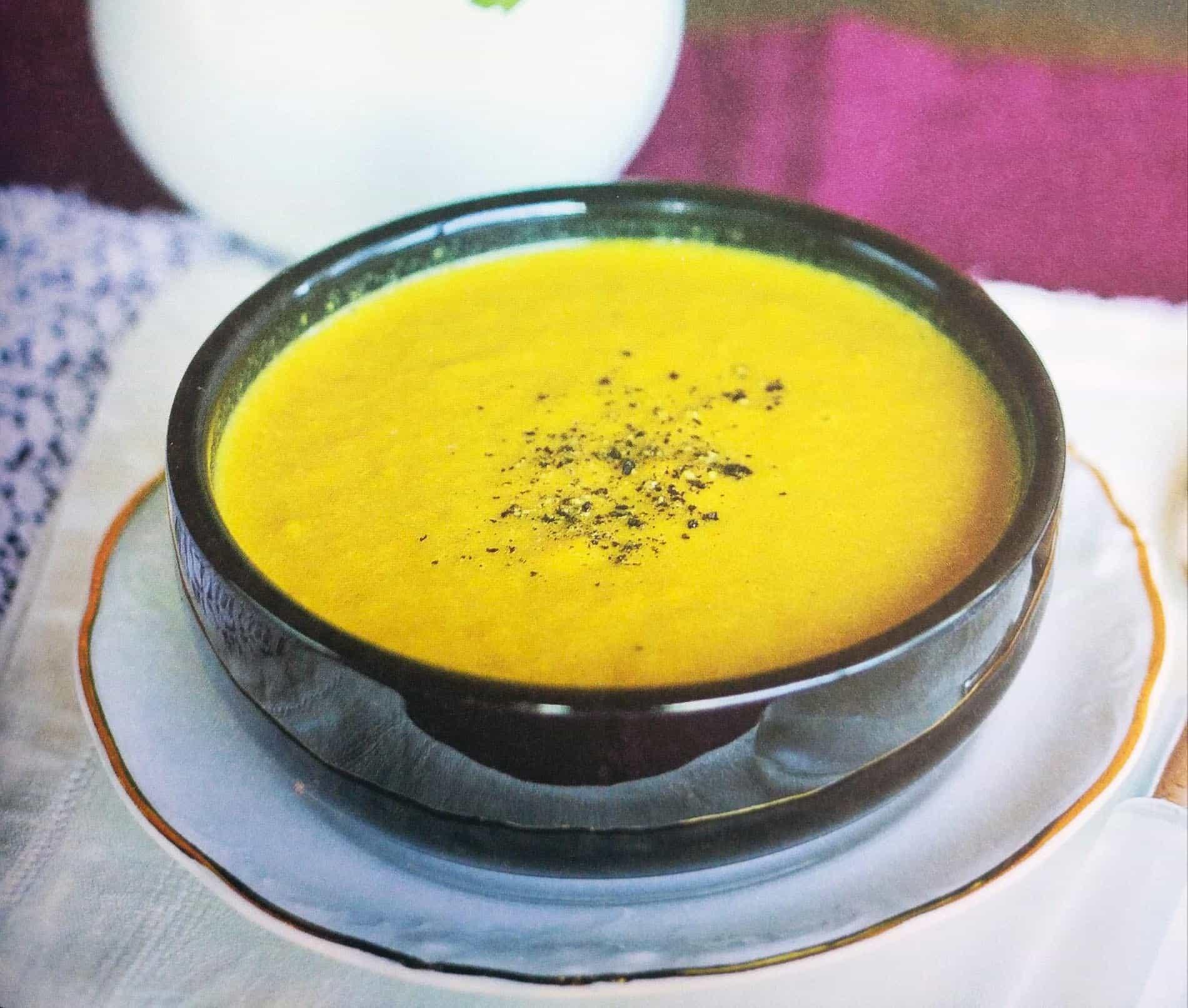 Кокосово-морковный суп